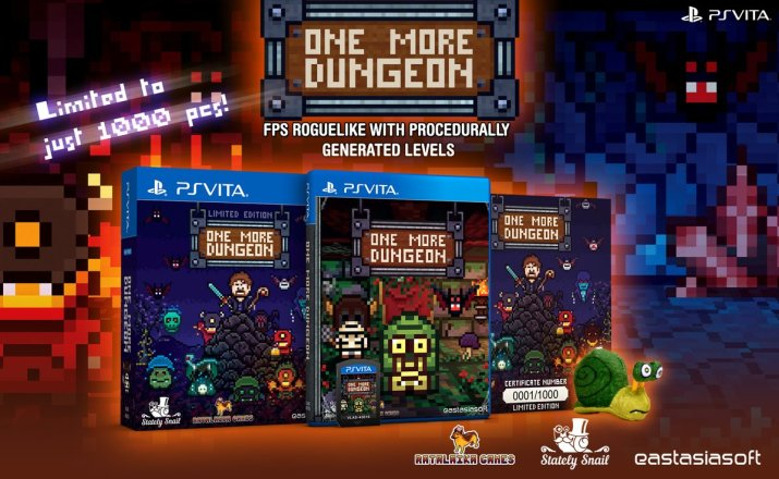 One More Dungeon Limited Edition PS Vita