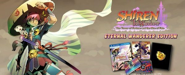 Shiren the Wanderer - Eternal Wanderer Edition à 19,50 € PS Vita