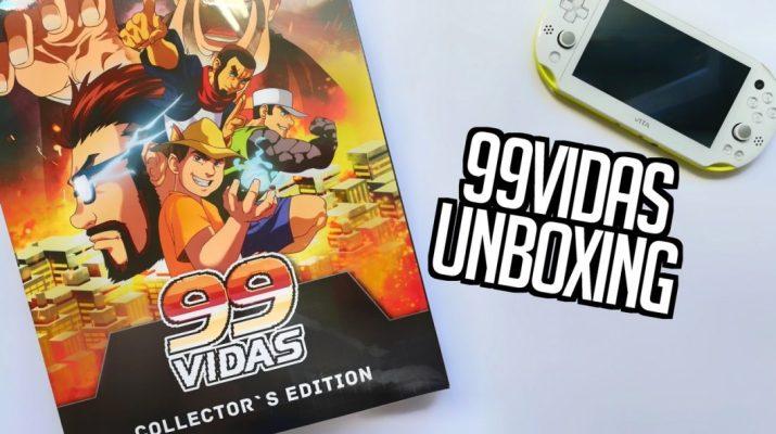 Unboxing de 99Vidas