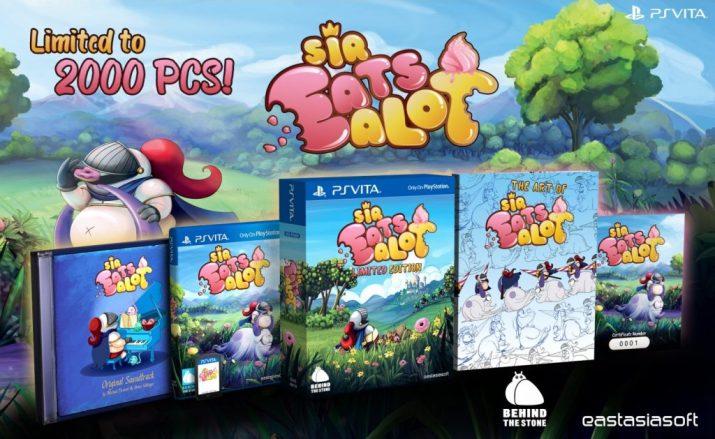 Sir Eatsalot Play Asia PS Vita