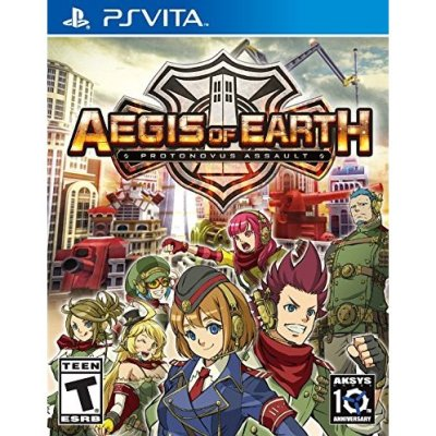 Aegis of Earth Bon Plan PS Vita