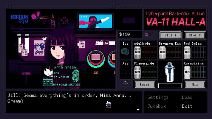VA-11 HALL-A PS Vita