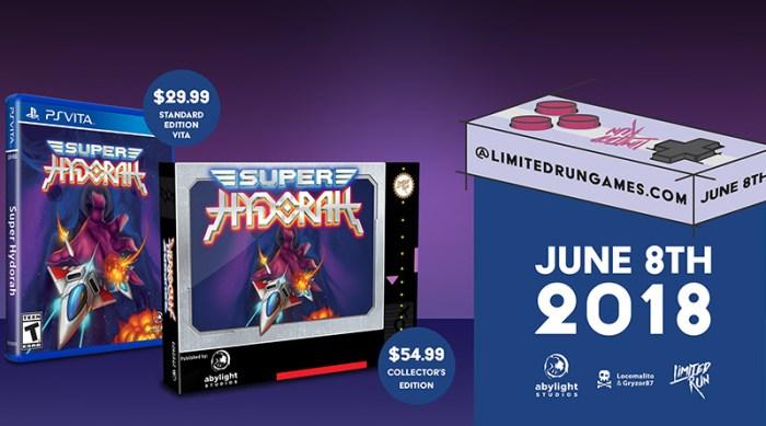 Super Hydorah Limited Run PS Vita