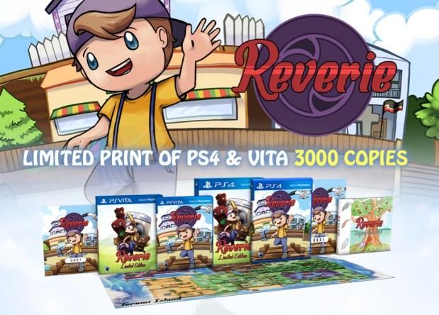 Reverie arrive le 17 mai en édition limitée physique sur PS Vita et PS4