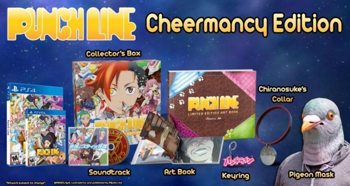 Punch Line Cheermancy Edition limitée PS Vita