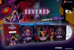 SEVERED le 26 juillet en édition limitée physique sur PS Vita !