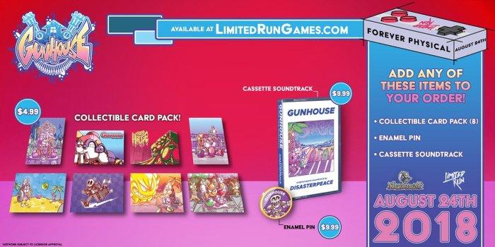 Gunhouse Limited Run PS Vita