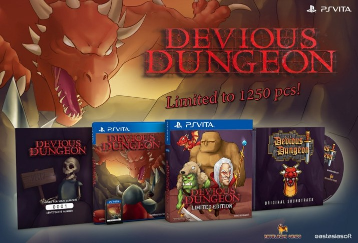 Devious Dungeon PS Vita