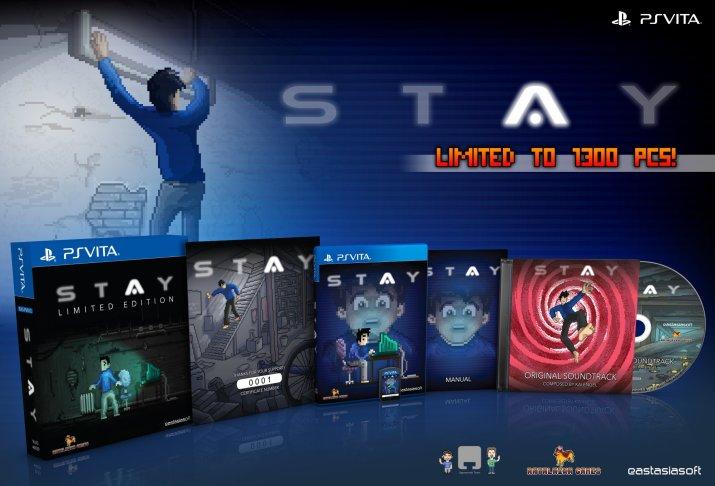 STAY édition physique limitée sur PS Vita