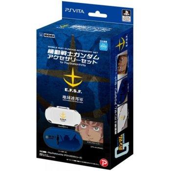 Mobile Suit Gundam Accessoire de rangement Bleu pour PS Vita