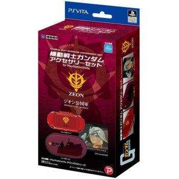 Mobile Suit Gundam Accessoire de rangement Rouge pour PS Vita