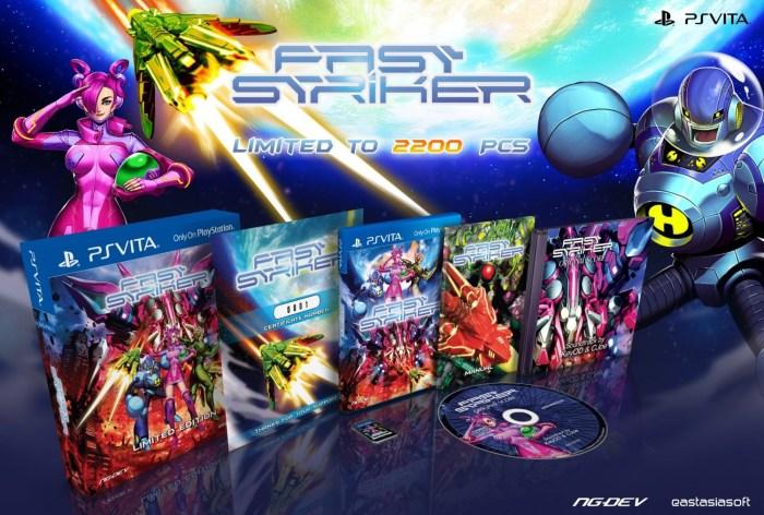 Fast Striker édition physique limitée PS Vita