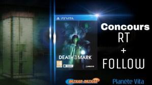 Concours 2 exemplaires de Death Mark à gagner en édition européenne sur PS Vita
