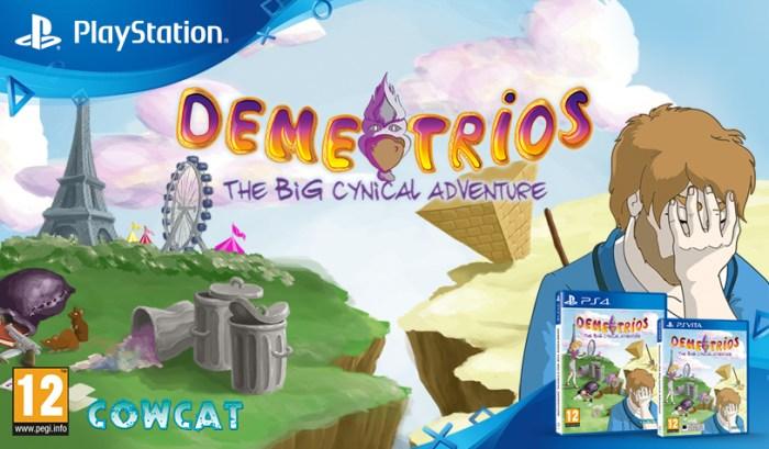 Demetrios est disponible à la précommande chez Red Art Games en version physique limitée sur PS Vita et PS4