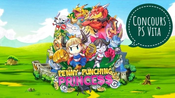 [Concours] Le jeu Penny Punching Princess à gagner sur PS Vita