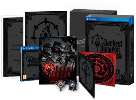 Darkest Dungeon édition collector PS Vita