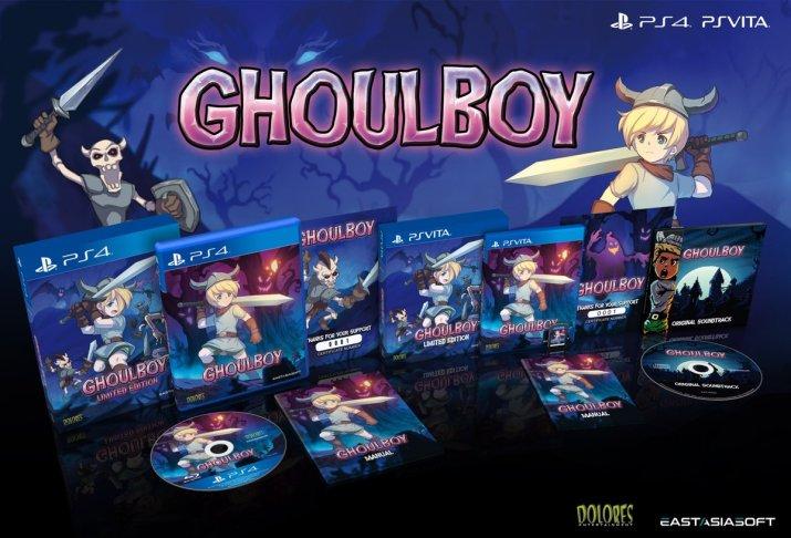 Ghoulboy PS Vita