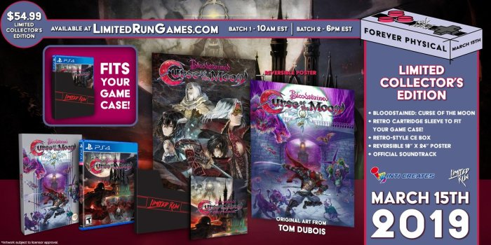 Bloodstained PS Vita Limited Run