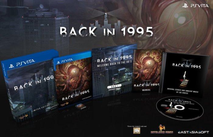 Back in 1995 - PS Vita édition physique limitée