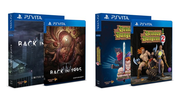Back in 1995 & Devious Dungeon 2 - PS Vita