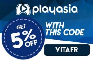 Play-Asia bon plan : code promo VITAFR