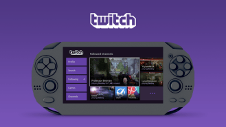 Twitch sur PS Vita