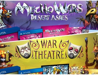 War Theatre & Mecho Wars Desert Ashes PS Vita