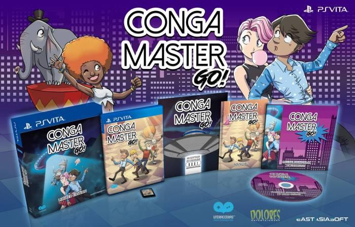 Conga Master Go ! Edition physique limitée PS Vita