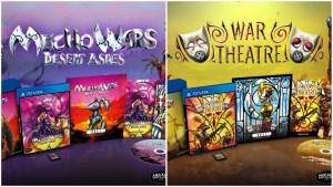 Mecho Wars Desert Ashes & War Theatre en éditions physiques limitées sur PS Vita