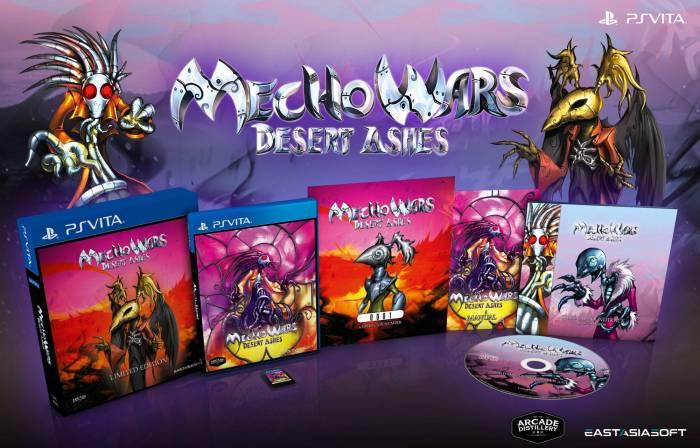 Mecho Wars Desert Ashes Edition physique limitée PS Vita