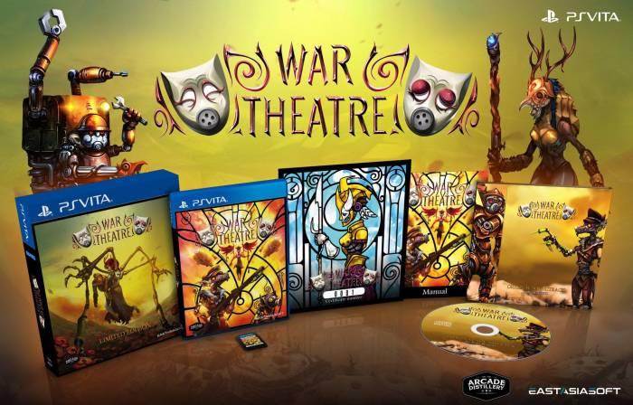 War Theatre Edition physique limitée PS Vita