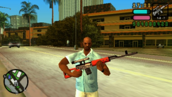 Grand Theft Auto radio perso sur PS Vita & PSP