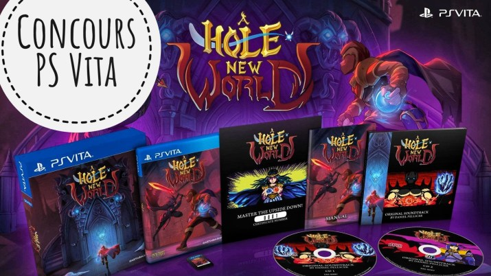 Concours A Hole New World PS Vita