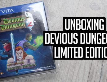 [Unboxing] Devious Dungeon 2 Limited Edition sur PS Vita