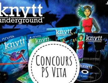 Concours Knytt Underground PS Vita