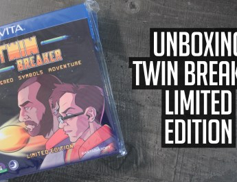[Unboxing] Twin Breaker Limited Edition
