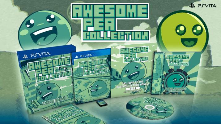 Awesome Pea Collection en édition physique limitée sur PS Vita