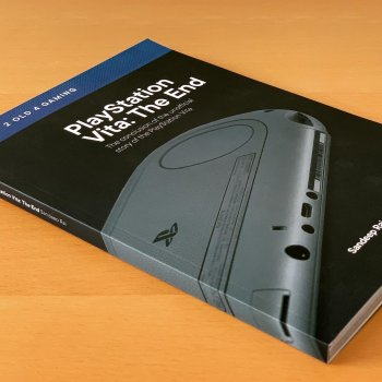 Le dernier livre sur l'histoire de la PS Vita