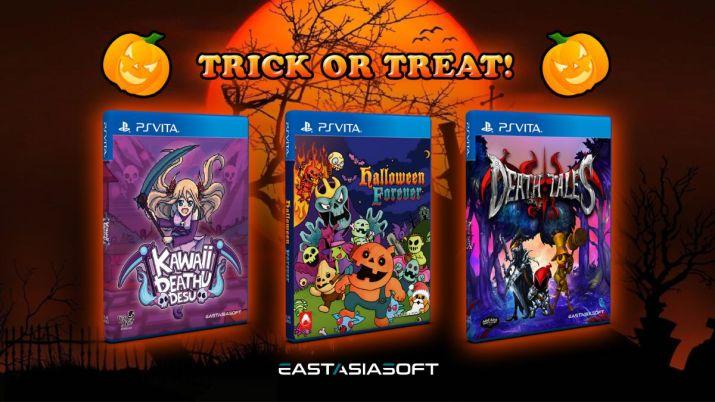 Trois nouveaux jeux effrayants débarquent le 29 octobre en éditions physiques limitées sur PS Vita