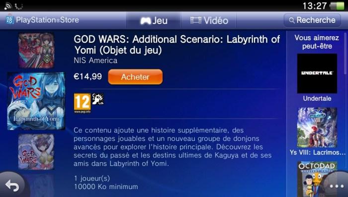 God Wars DLC