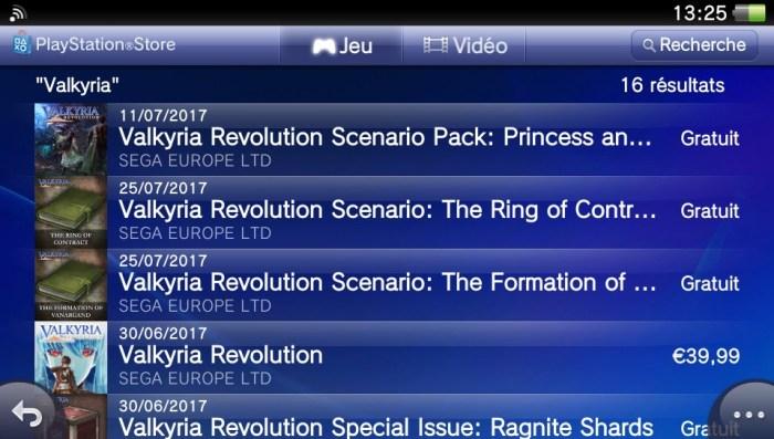 Valkyria Revolution DLC