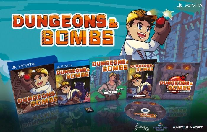 Dungeons & Bombs édition limitée PS Vita