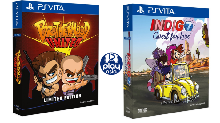 Brotherhood & Indigo7 sur PS Vita