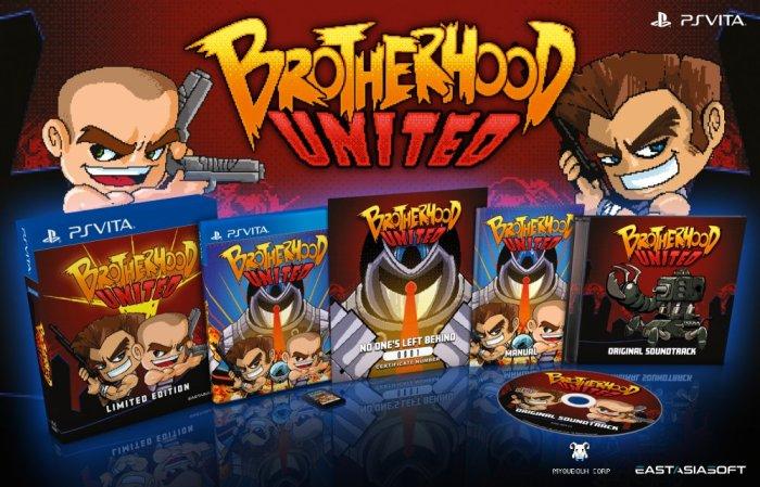 Brotherhood United édition physique limitée sur PS Vita