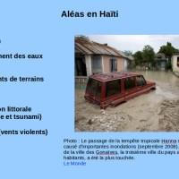 Haïti 2016 (1) : quelle prévention des risques 6 ans après le séisme de 2010 ?