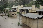 Nadi river and flood pictures (source Fijian Government Facebook Page)