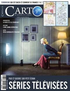 Magazine CARTO Janvier-Février 2016 - couverture