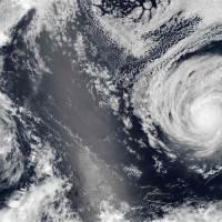 Ouragans Madeline et Lester dans le centre du Pacifique - Hawaï (août 2016)