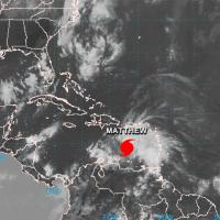 Matthew se renforce et devient un ouragan