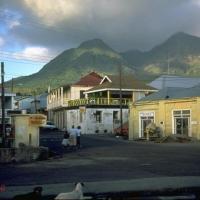 Eruption du Volcan de la Soufrière à Montserrat (Caraïbes)